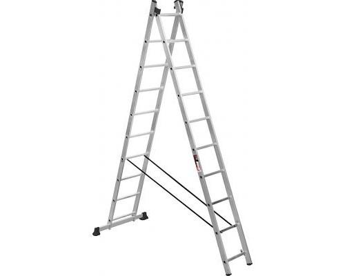 Лестница Stark Алюминиевая двухсекционная 2*10 SVHR2x10 (525210405)