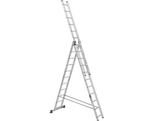 Лестница Stark Алюминиевая трехсекционная 3*13 SVHR3x13 (525313508)